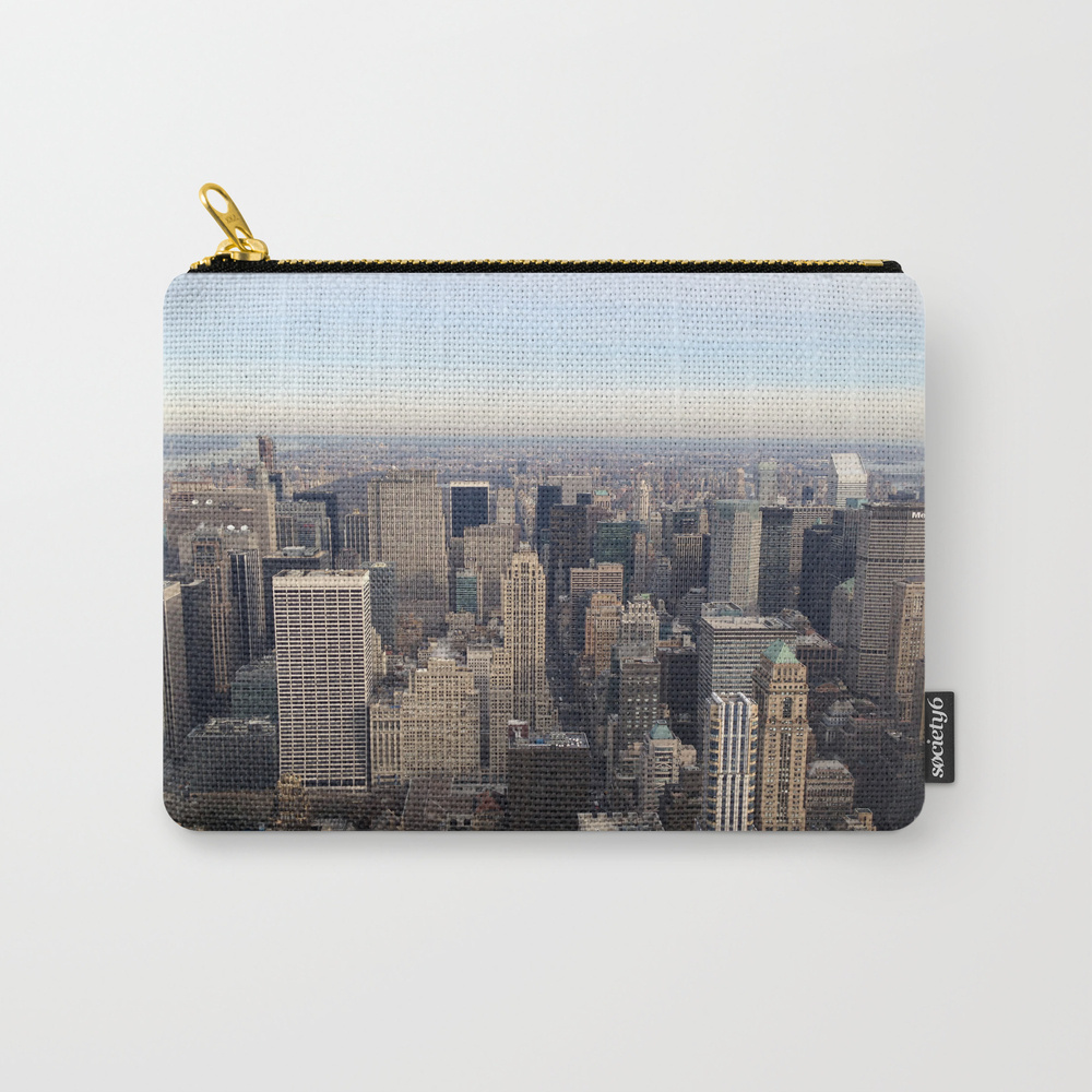 New York I Love You Carry-all Pouch by Lucreziasemenzato CAP929300