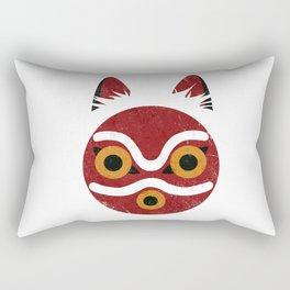 Princess Mask Rectangular Pillow