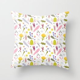 Australian Botanical Throw Pillow