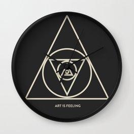 ReyStudios Monochromatic 5 Wall Clock