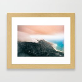 Table Mountain, South Africa Framed Art Print