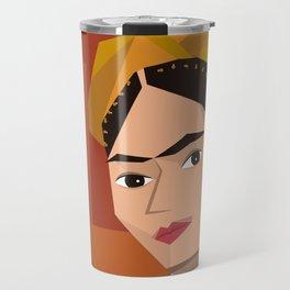 Frida Khalo Cubism Edition 2 Travel Mug