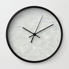 Wide Awake Wall Clock
