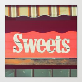 Sweets by Eamon Donnelly Canvas Print