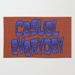 casual everyday Rug