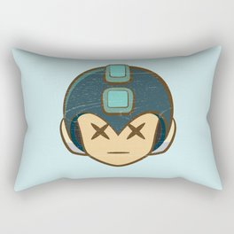 Rockman Repairs Rectangular Pillow