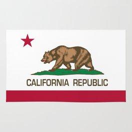 California Republic Flag, High Quality Image Rug