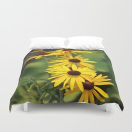 Black Eyed Beauties Duvet Cover