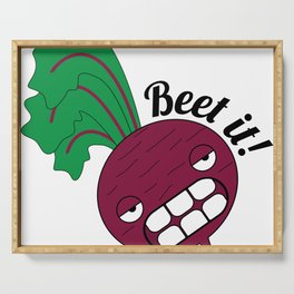 Beet it! Serving Tray