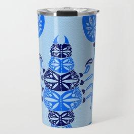 Blue Scorpion Travel Mug
