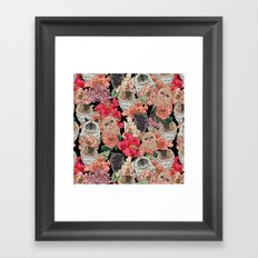 Because Cats Framed Art Print