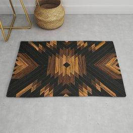Urban Tribal Pattern No.7 - Aztec - Wood Rug