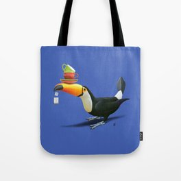 Tea for Tou (Colour) Tote Bag