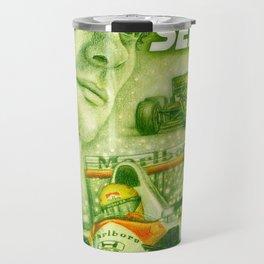 Ayrton Senna Tribute Travel Mug