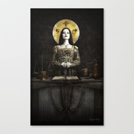 The Alchemist Canvas Print