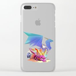 Spyro Reborn Clear iPhone Case