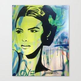 Stare down Canvas Print