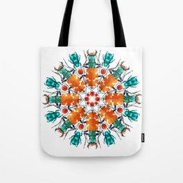 Bug Mandala Tote Bag