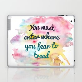 Enter where you fear to tread   Tower of Dawn Laptop & iPad Skin