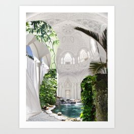 Peaceful Place Art Print