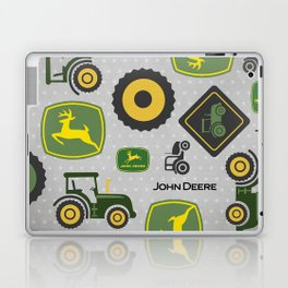 Farm Tractor - Green Laptop & iPad Skin
