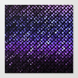 Crystal Bling Strass Purple G323 Canvas Print