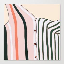 Unbutton Canvas Print