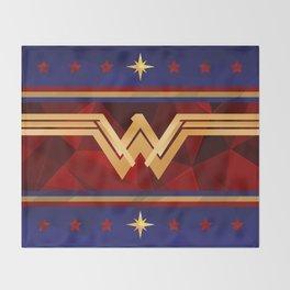 Wonder Power Courage Throw Blanket