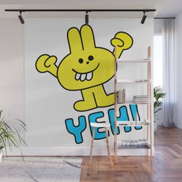 YEH! Wall Mural
