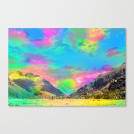 Truly High Mountains Canvas Print