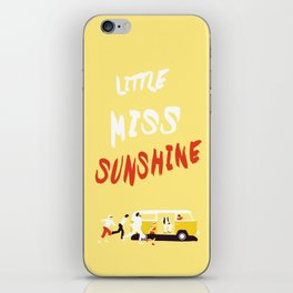 THE ROAD TO MISS  SUNSHINE iPhone Skin