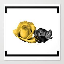 Rose Duet Canvas Print