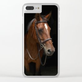 Downtown Abby Clear iPhone Case