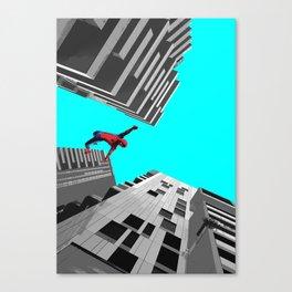 Spidy in Milan Canvas Print