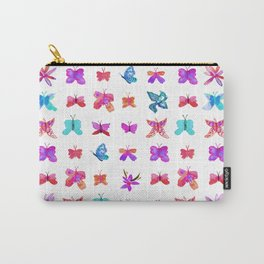Teeny Butteflies Carry-All Pouch