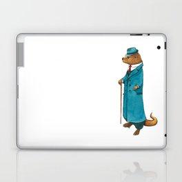 Otter in suit Laptop & iPad Skin