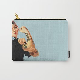 Tattooed Rosie the Riveter Carry-All Pouch