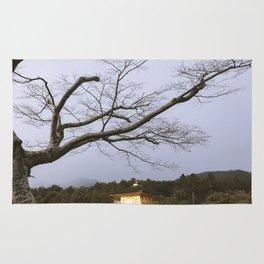 Golden Pavillion in Kyoto, Japan Rug