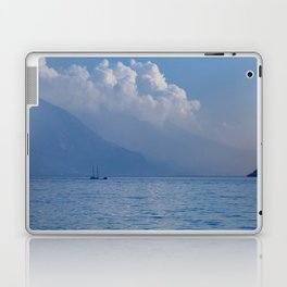 Lake Garda in the Blue Mist Laptop & iPad Skin