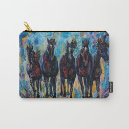 Roaming Free by OLenaArt/ Lena Owens Carry-All Pouch
