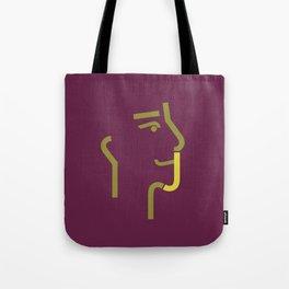 logo J Tote Bag