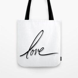 Love No. 2 Tote Bag