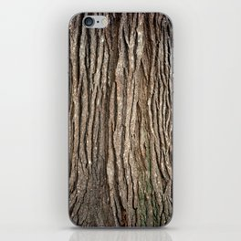 Wood bark iPhone Skin