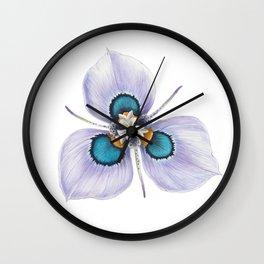 Flower Painting   MORAEA VILLAS   Watercolour   Nature Wall Clock