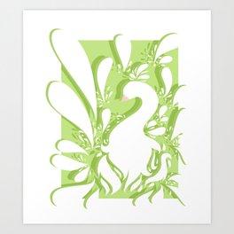 Graceful Feathers Art Print