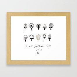 plants2 Framed Art Print