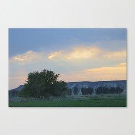 Idaho Sun Set Canvas Print