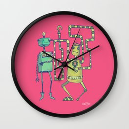 Robo Pirates! Wall Clock