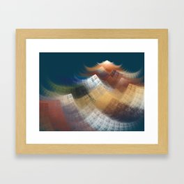 Path to the Mountain Framed Art Print
