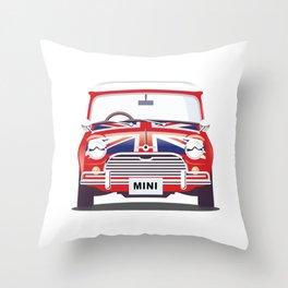 British Mini Throw Pillow